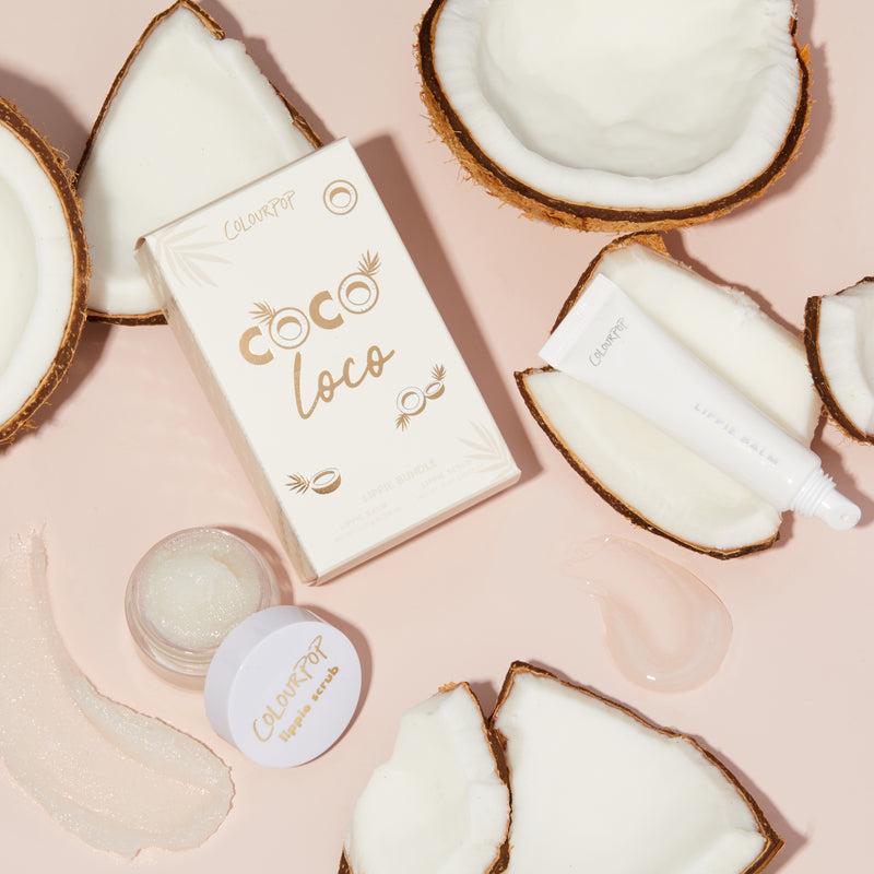 ColourPop - Coco Loco Exfoliating Lip Scrub & Balm Kit