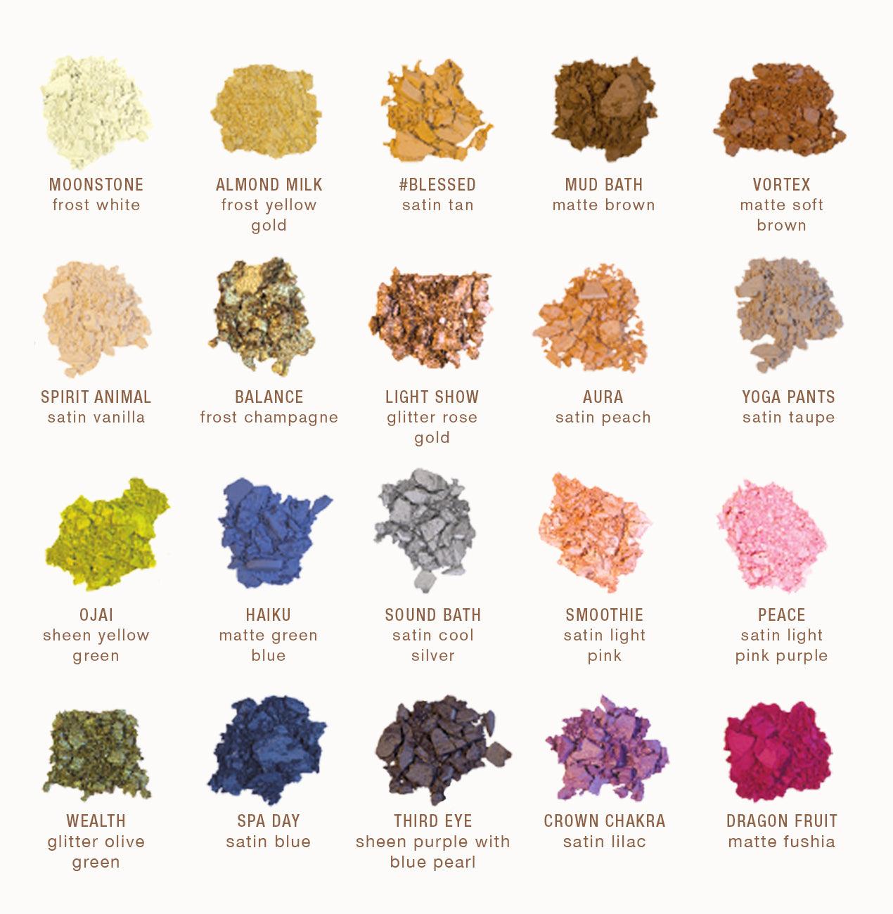 www.ibybeauty.com - Enlighten Palette