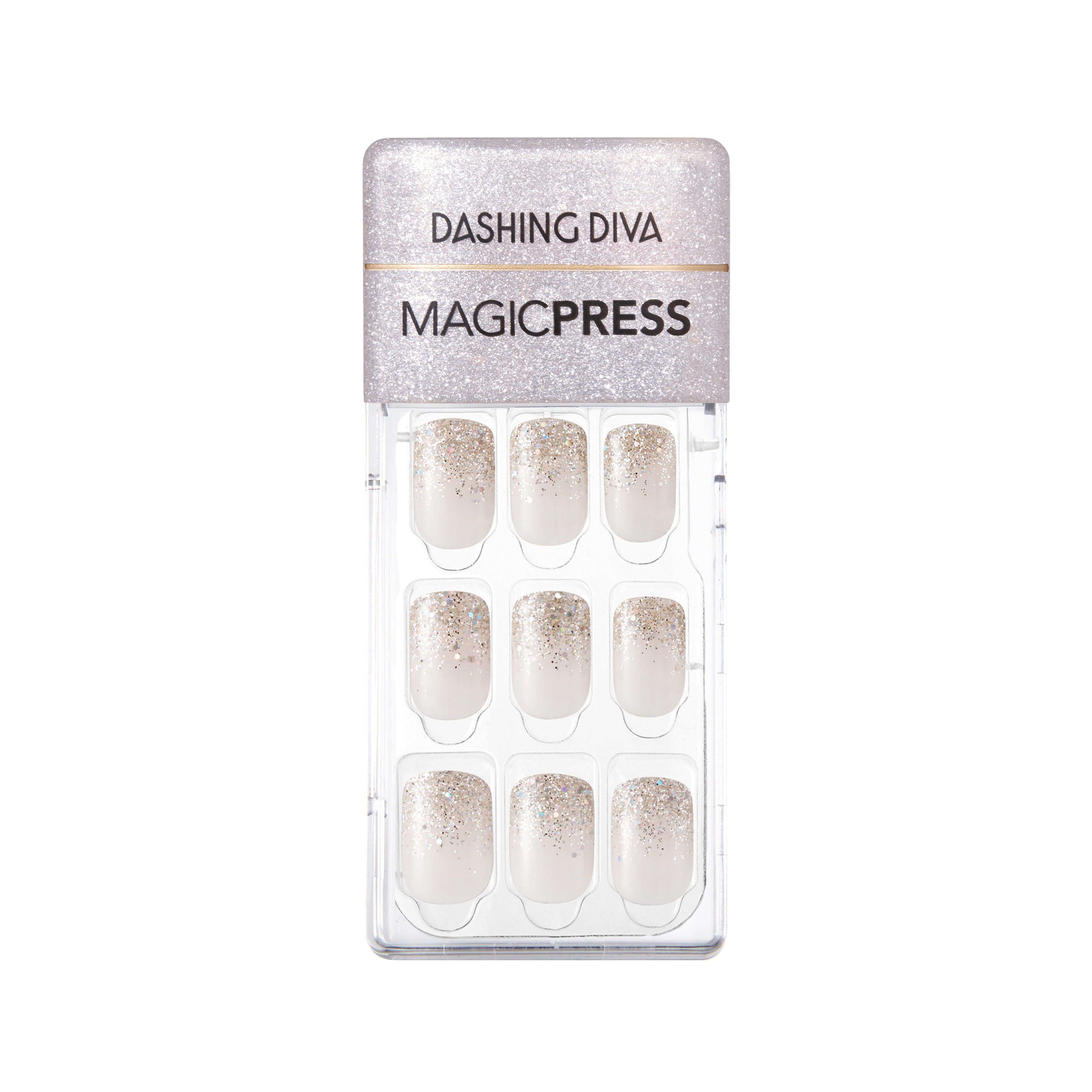 Magic Press - Press On - Silver Ice