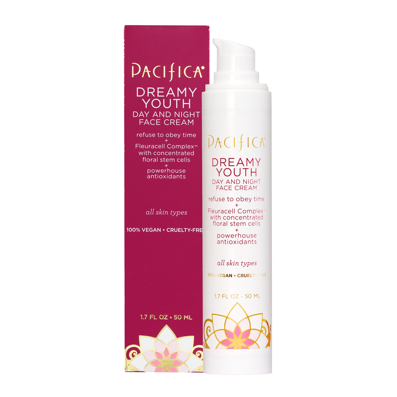 pacificabeauty.com - Dreamy Youth Day & Night Face Cream