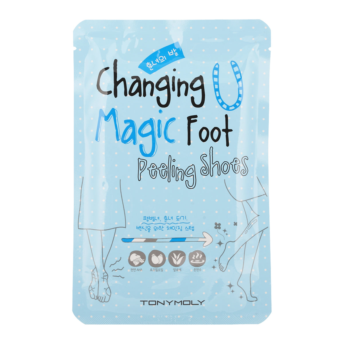 Tonymoly - Changing U Magic Foot Peeling Shoes