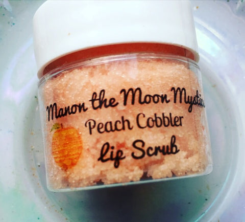 manonthemoonmystics.com Peach Cobbler Lip Scrub