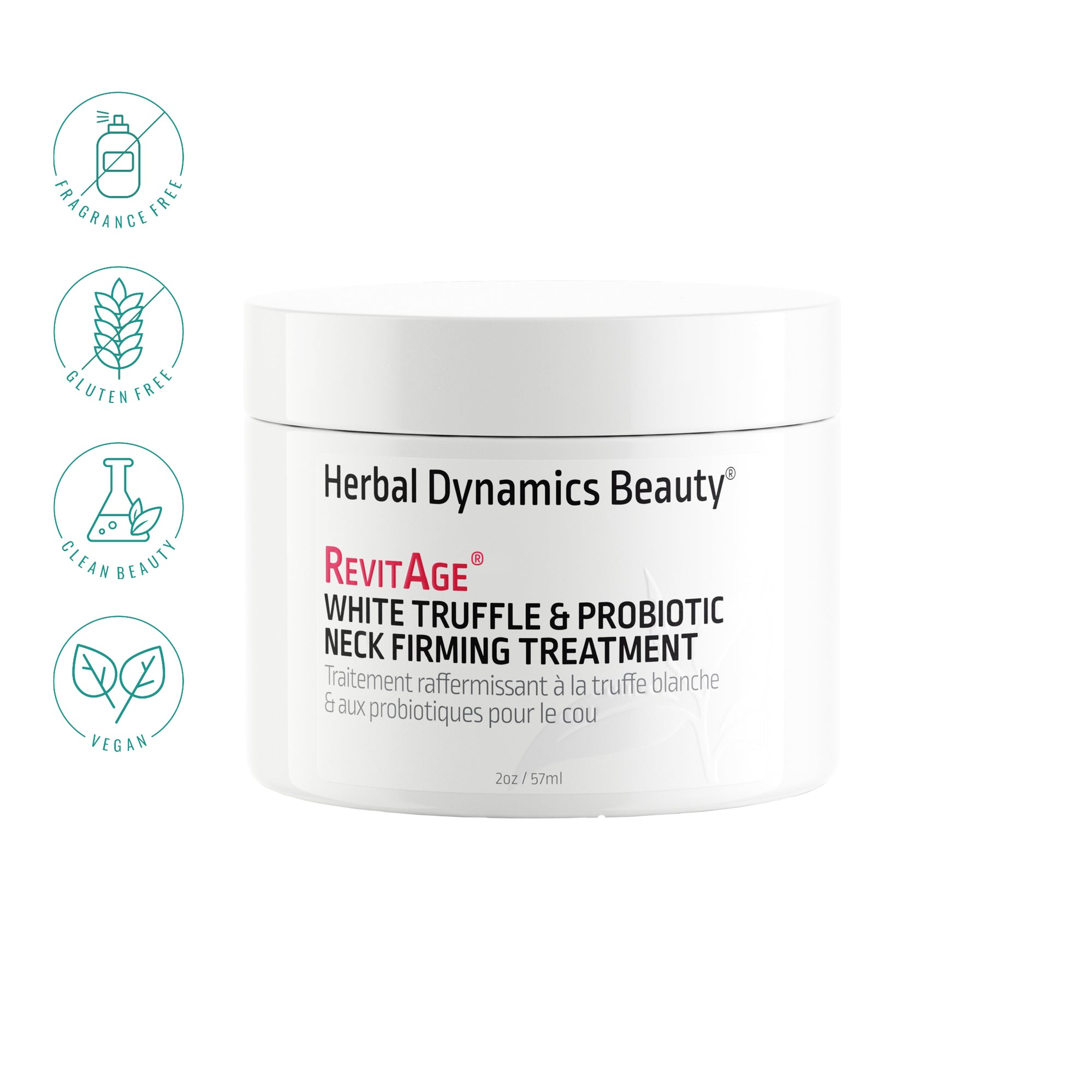 Herbal Dynamics Beauty - White Truffle & Probiotic Neck Firming Treatment