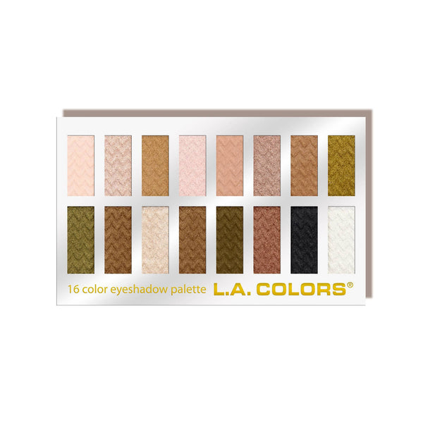 L. A. Colors - Expressions 12-Color Eyeshadow Palette