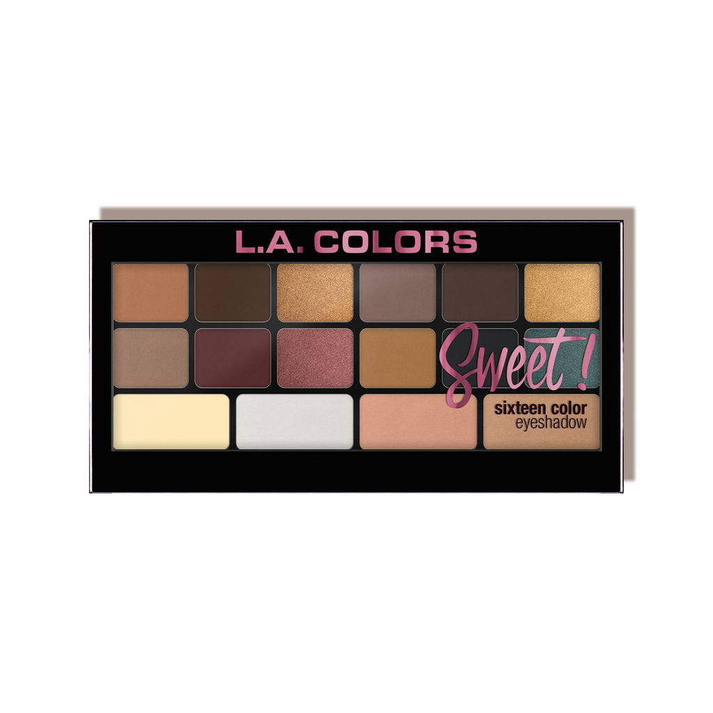 L. A. Colors - Sweet! 16 Color Eyeshadow
