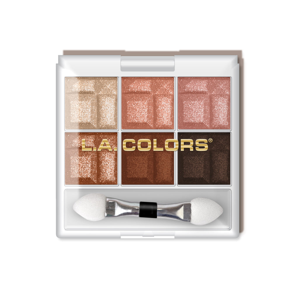 L. A. Colors - 6 Color Eyeshadow