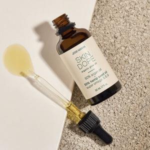 www.josiemarancosmetics.com - Skin Dope Argan Oil + Hemp Seed Oil