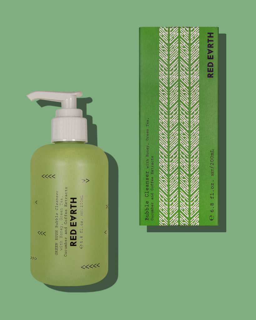 Red Earth - Green Rush Bubble Cleanser
