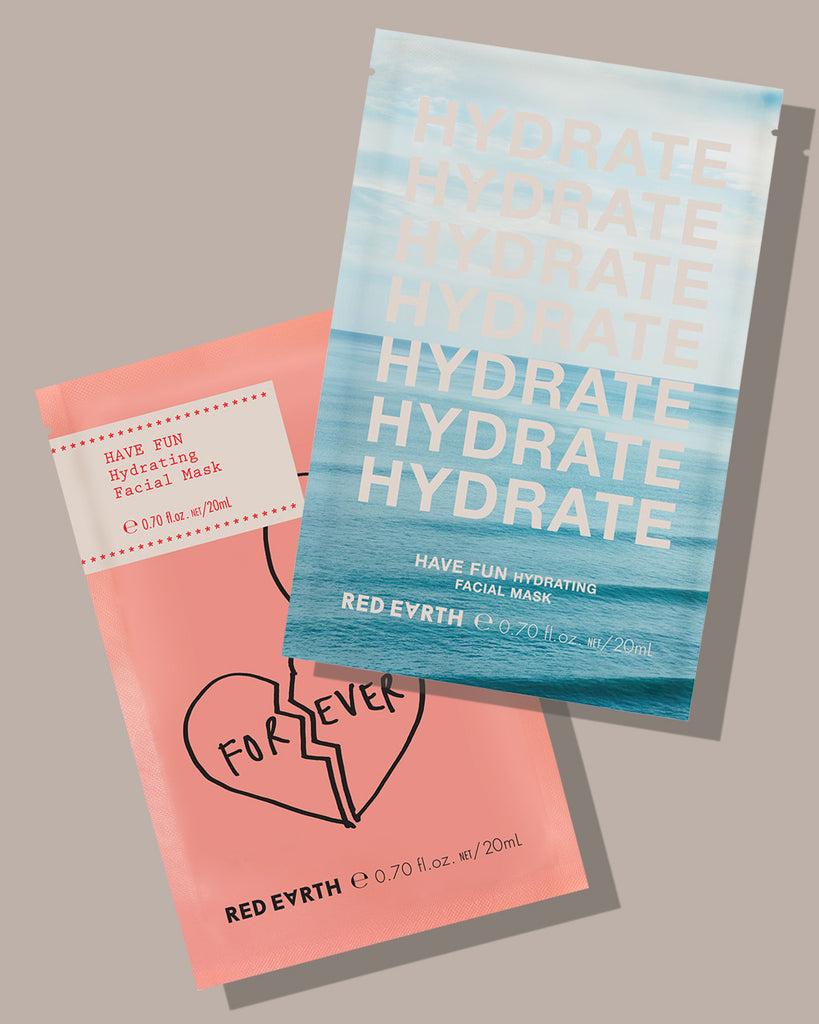 redearth.com - HAVE FUN HYDRATING FACIAL MASK 12pcs