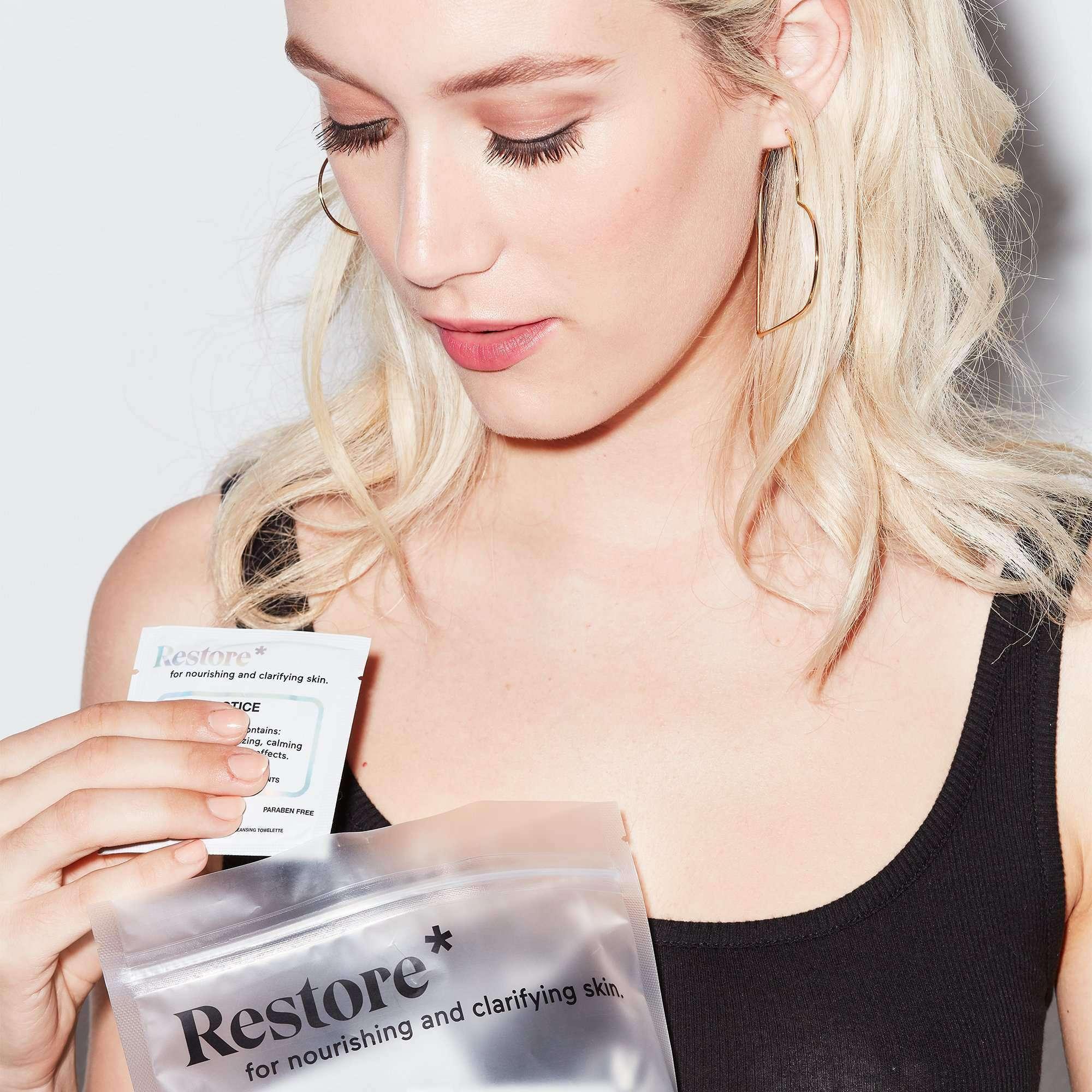 Makeupdrop - Restore Wipes