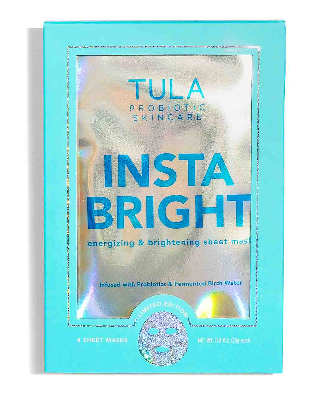 tula.com - Insta Bright Energizing & Brightening Sheet Mask