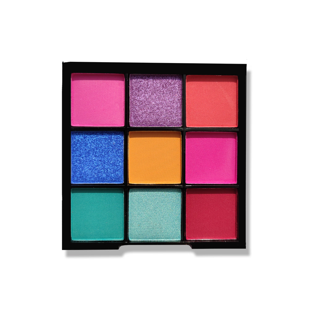 Nicka K - Nine Color Eyeshadow Palette, Birthday Cake