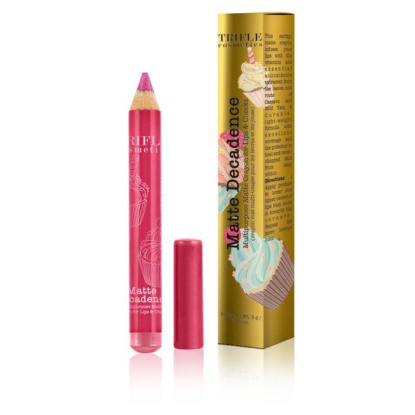 triflecosmetics.com - Matte Decadence - Multipurpose Matte Crayon for Lips & Cheek