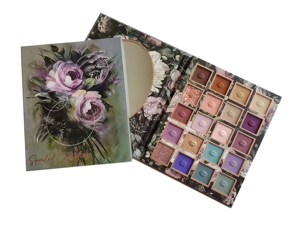 spoiledcosmetics Nevermore Volume 19 palette