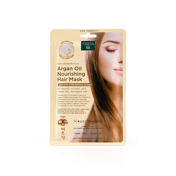 K-Beauty - Argan Oil Nourishing Hair Mask