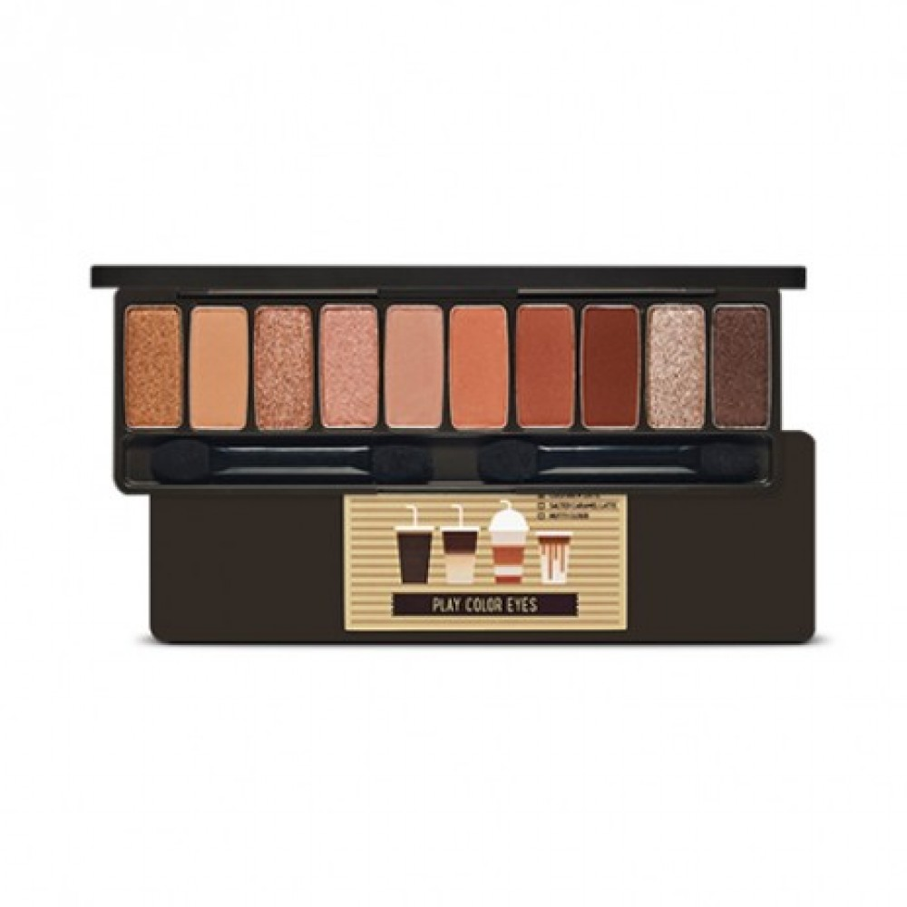 Etude House Etude House - Play Color Eyes Palette #Caffeine Holic (No Syrup Coffee To Go Edition)