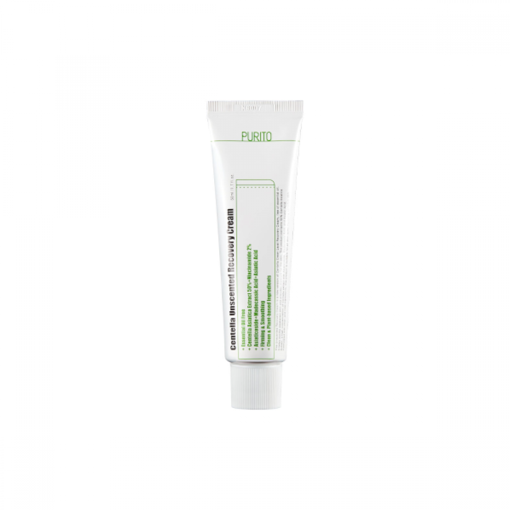 Purito - PURITO - Centella Unscented Recovery Cream - 50ml