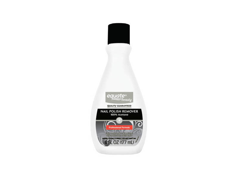 Equate Beauty. - Equate Beauty 100% Acetone Nail Polish Remover, 6 fl oz