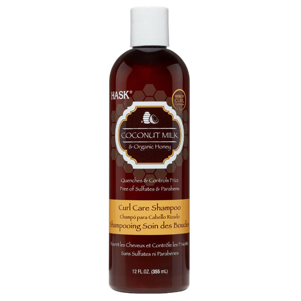 Hask - HASK Coconut Milk & Organic Honey Curl Care Shampoo (12 oz.)