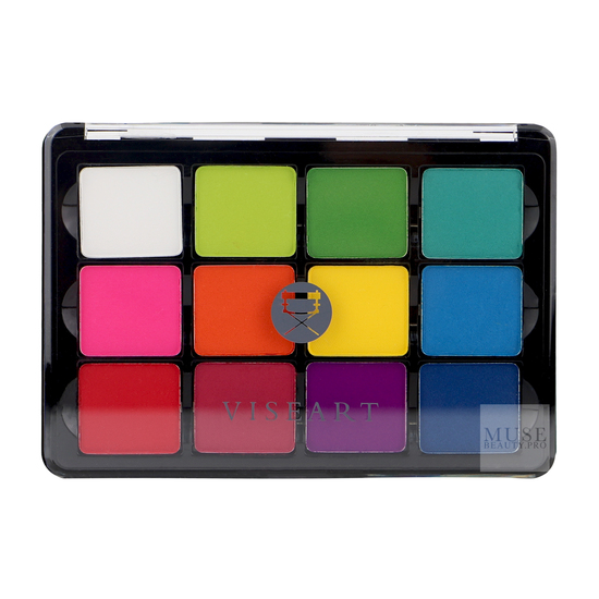VISEART COSMETICS - Viseart SlimPro Pigment Palette: 08 Editorial Mattes