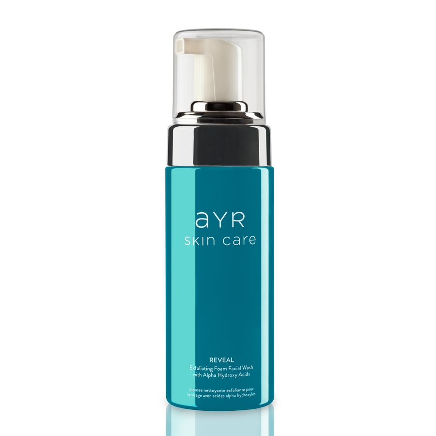 ayrskincare.com - Reveal Exfoliating Foam Facial Wash with Alpha Hydroxy Acids
