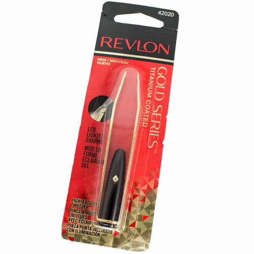 Revlon - Titanium Coated Lighted Slant Tip Tweezer