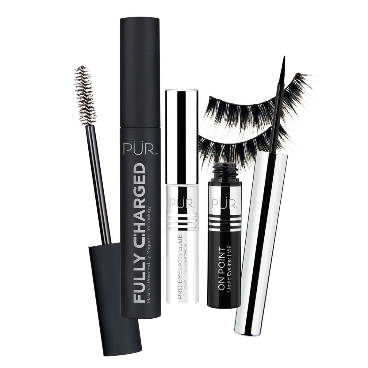 Pur Store View - Life of the Party Mascara, Liner and Lash Set