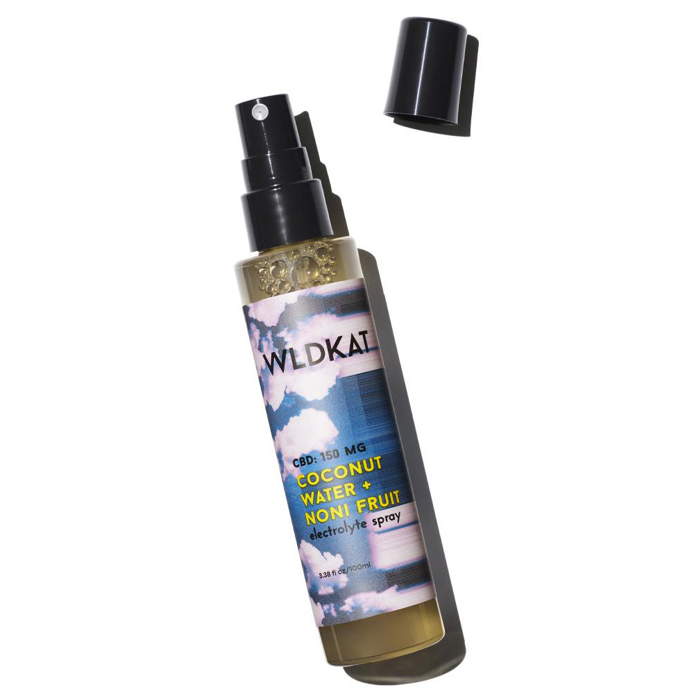 WLDKAT Coconut Water + Noni Fruit Electrolyte Spray