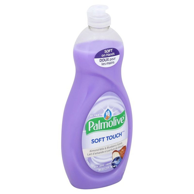 logo - Palmolive Soft Touch Dish Liquid Almond Milk & Blueberry Scent