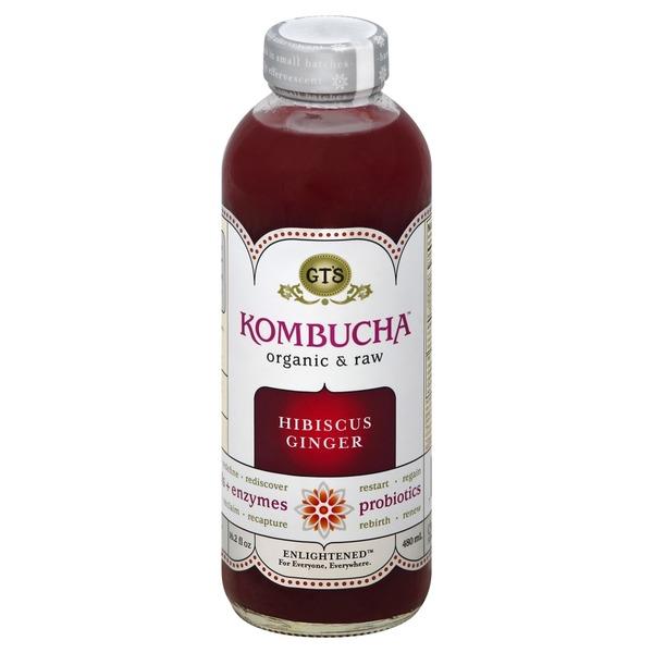instacart.com - GT's Organic Kombucha Hibiscus Ginger