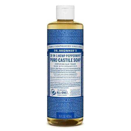 Dr. Bronner'S - Peppermint Pure-Castile Liquid Soap