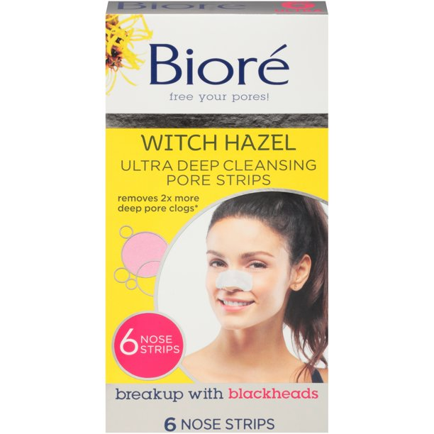 Bioré - Witch Hazel Ultra Cleansing Pore Strips