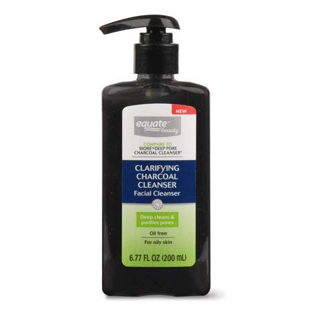 Equate Beauty. - Clarifying Charcoal Facial Cleanser