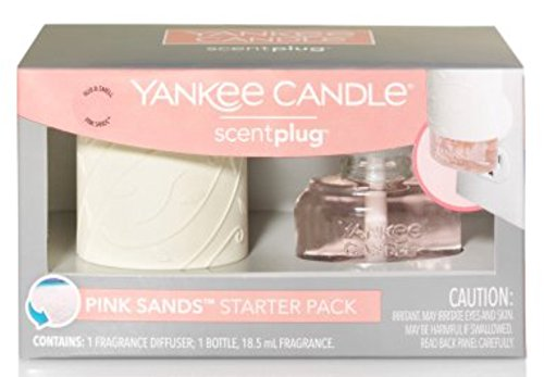 Yankee Candle - Pink Sands Scent Diffuser and Refill Starter Kit
