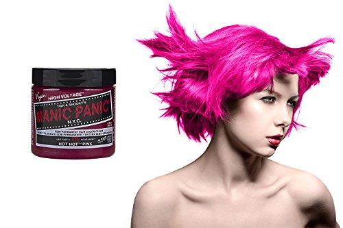 BeWild Manic Panic Hot Hot Pink Hair Dye