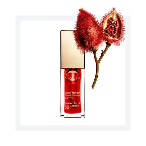 Clarins - Instant Light Lip Comfort Oil (Red Berry)