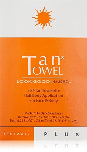 Tan towel - Self Tan Towelette Plus