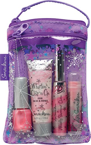 Lip Smacker - Smackers Glam It Up Lip, Nail and Face Collection in Cosmetics Bag Set