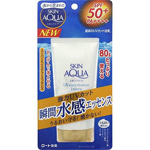 Rohto - SKIN AQUA Super Moisture Essence (SPF50 + PA ++++)