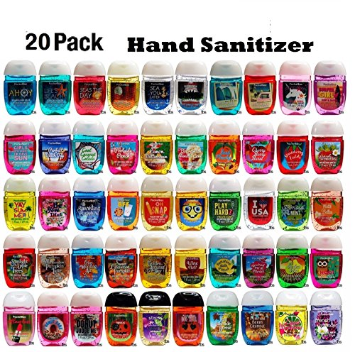PocketBac - Anti-Bacterial Hand Gel PocketBac Sanitizers, Assorted Scents