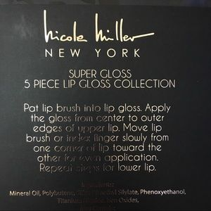 Nicole Miller - Lip Gloss Set