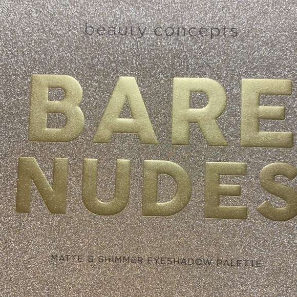 paigepoo Beauty concepts bare nudes eye shadow pallet