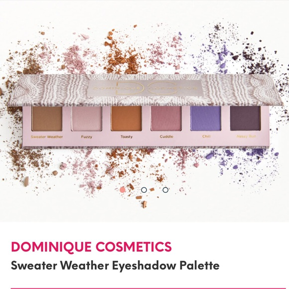 Dominique Cosmetics - DOMINIQUE COSMETICS Sweater Weather Eye Palette
