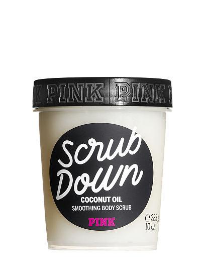 victoriassecret.com - PINK Scrub Down Coconut Oil Smoothing Body Scrub