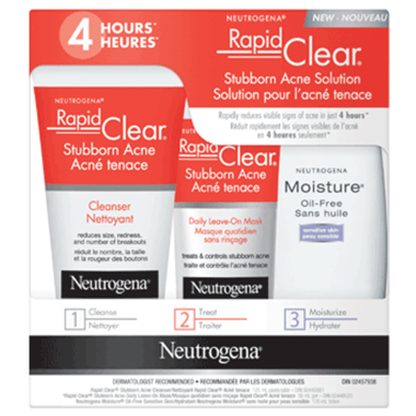 Neutrogena - Neutrogena Rapid Clear Stubborn Acne Solution Kit
