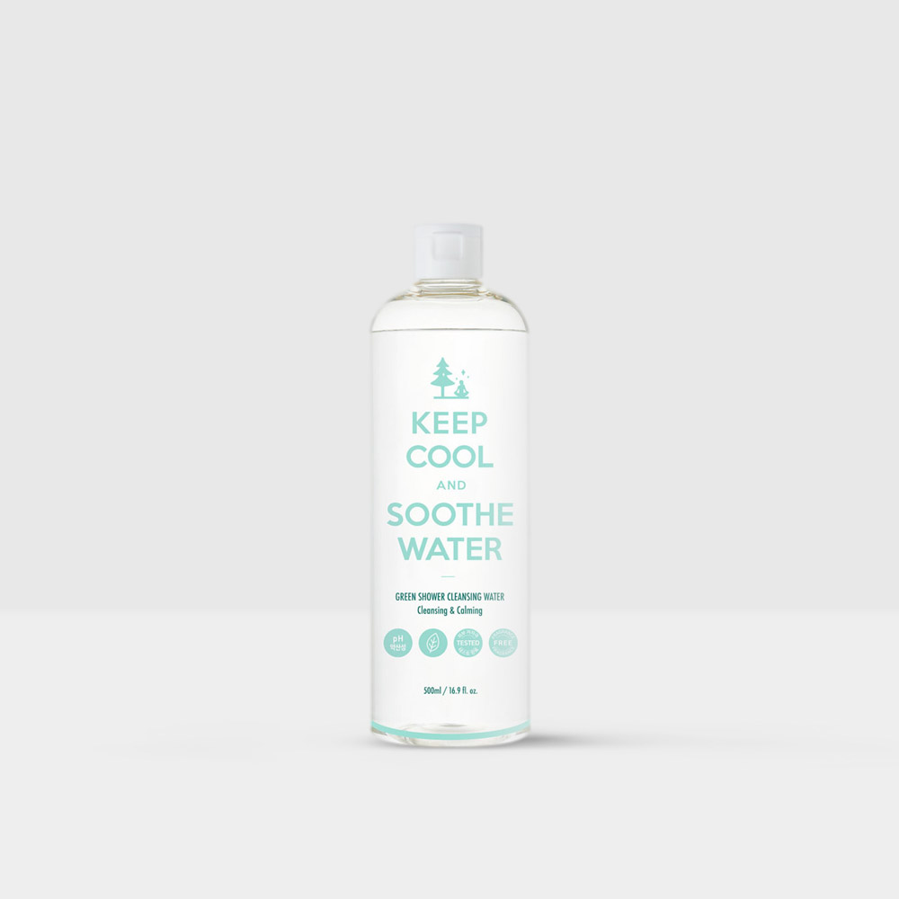 beautytap.com - KEEP COOL Soothe Phyto Green Shower Cleansing Water 500ml