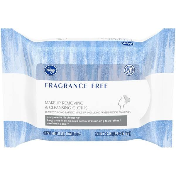 google.com - Kroger Makeup Removing Cleansing Wipes - 25 ct
