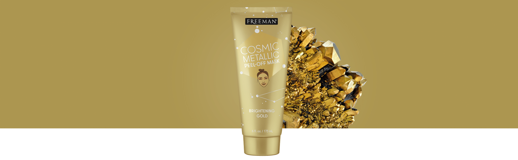 Freeman's - Metallic Peel-Off Mask