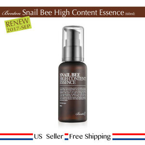 Benton - Details about Benton Snail Bee High Content Essence 60ml + Free Sample [US]