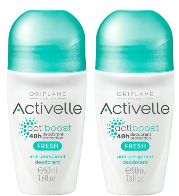 Aprox. Oriflame Sweden Activelle Fresh Anti-perspirant Deodorant roll on